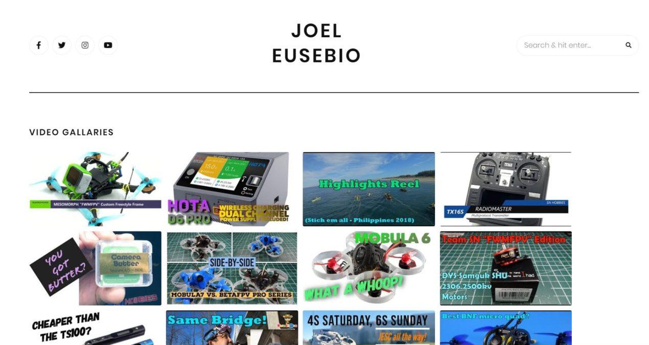 Joel Eusebio.com